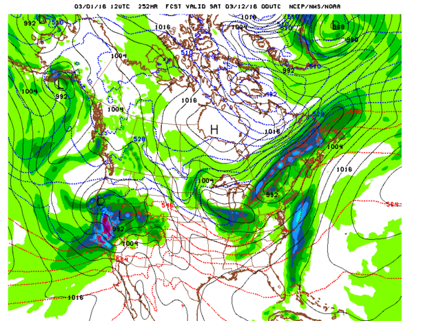 NOAA Forecast 2_29