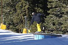 Who said skiers can't jib?