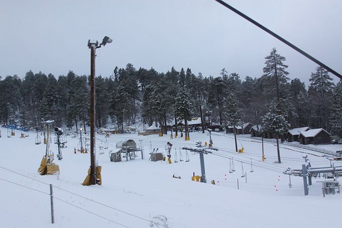 Fresh snow is helping to open the West Resort tomorrow.