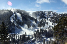 Mountain High is OPEN with plenty of fresh snow.