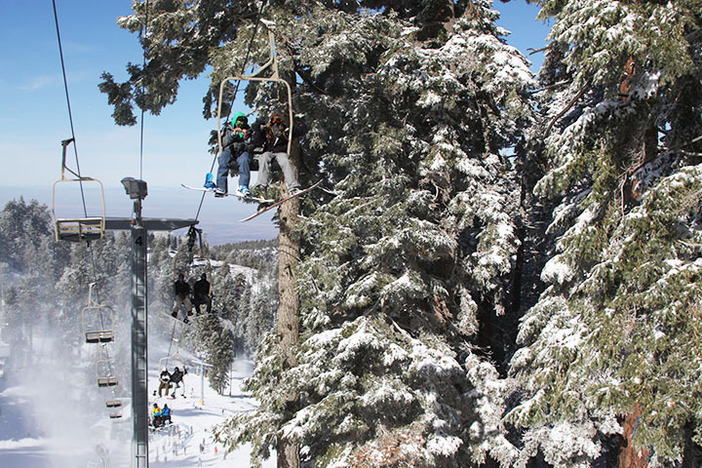 The storm and great snow making have opened all the West Chairs!