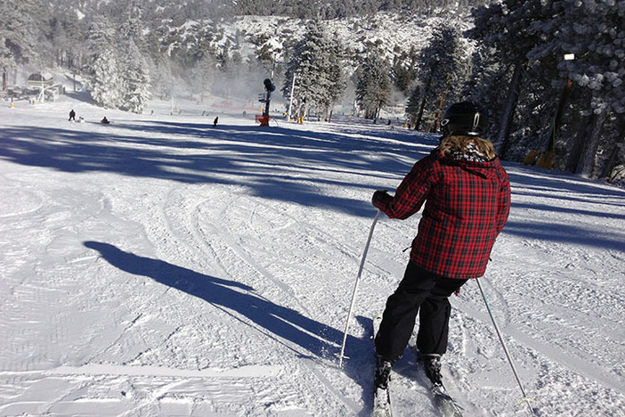 Great terrain for both skiers and snowboarders.