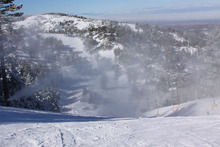 Fresh snow and terrific snowmaking overnight.