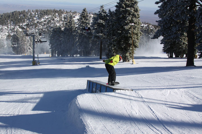 Boarderline is packed with jibs and jumps!