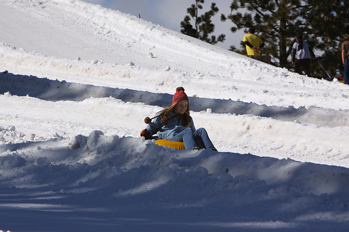 Time for some tubing over at Mountain High North!
