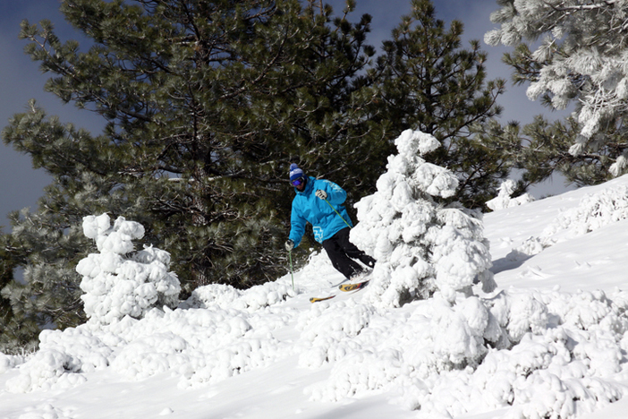 The East Resort is now open with some of the best Alpine terrain in the region.