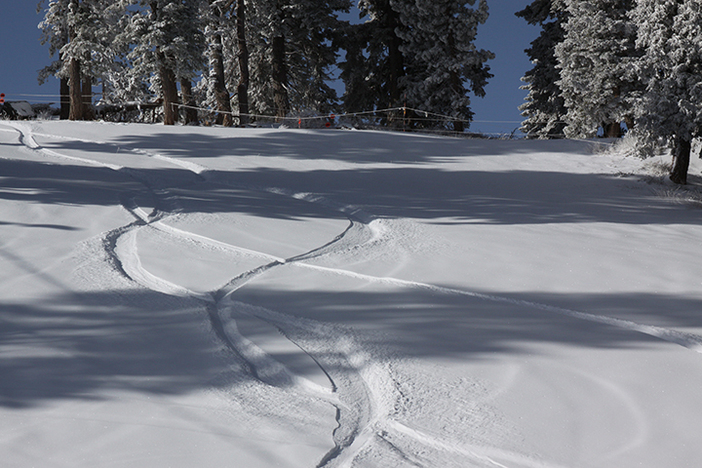 Get up here and get first tracks this morning!