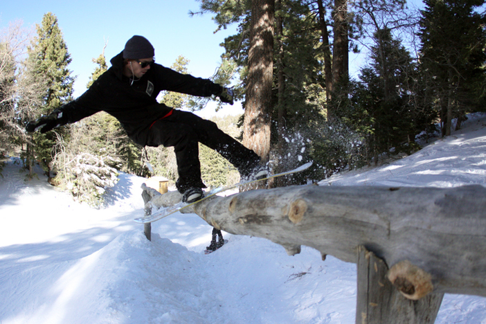 Come check out the all new Natural Terrain Park in The Gulch.