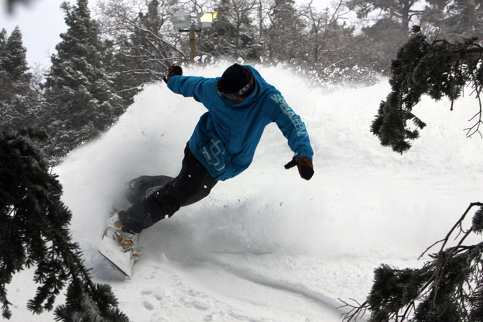 Slashing some pow in the trees.