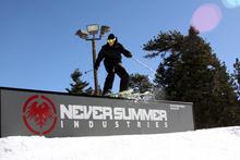Skiiers like the Never Summer Jibs too!
