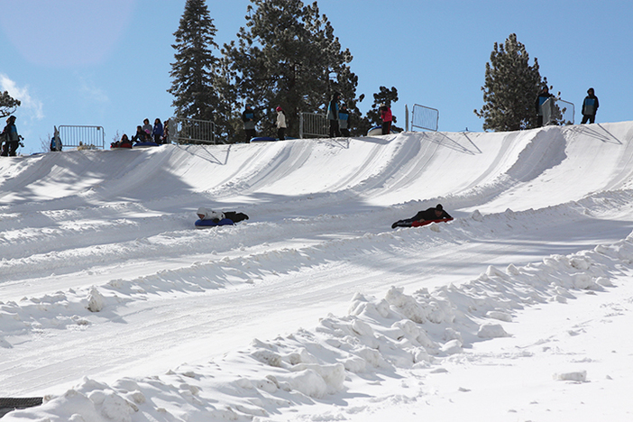 The North Pole Tubing park is open and fun for all ages!