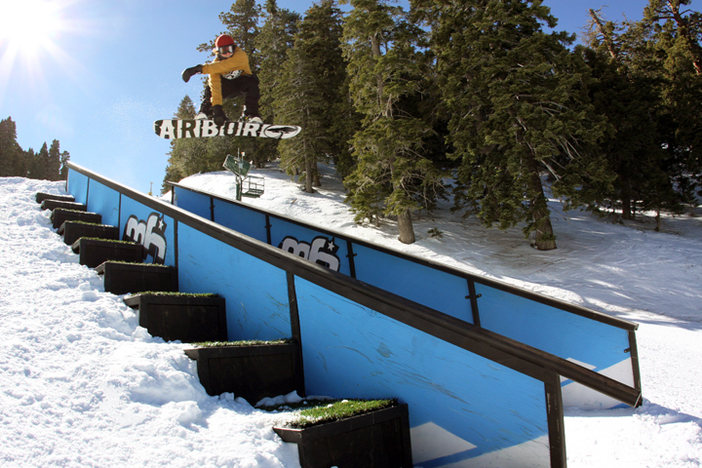 Hittin' the stair set on Lower Chisolm
