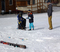 Bring the little ones to learn to ski.