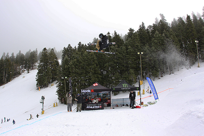 The Recon tour concluded yesterday and the skiers were throwing down!