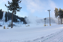"Fantastic conditions with 4"" of new snow yesterday!"