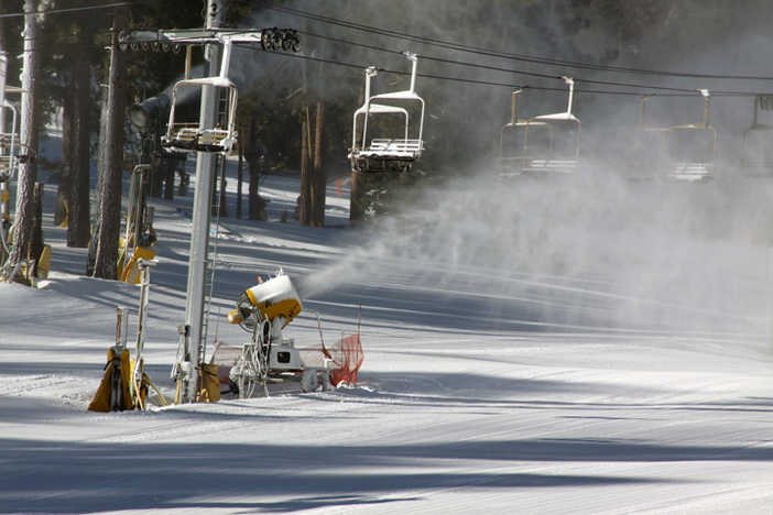 Snowmaking has been going all night!