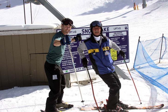 Friendly ski school instructors are here and ready to get you on the slopes!