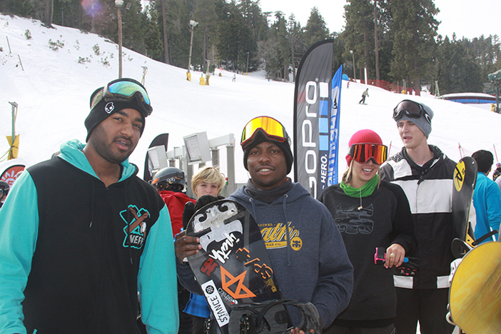 Stevie Bell and company were on hand ready to shred.