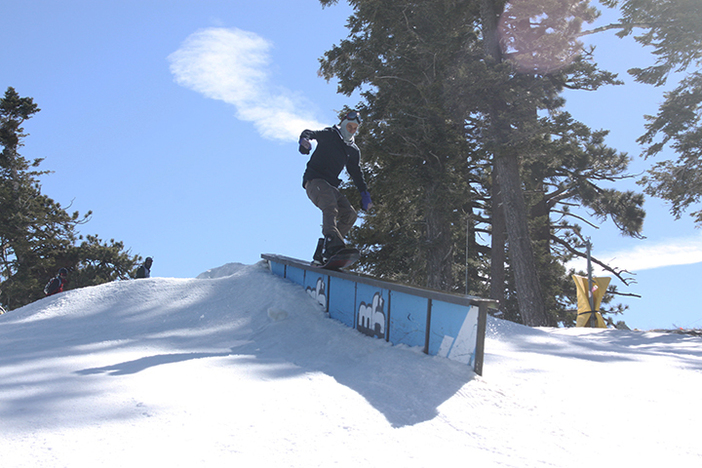 Chase Gibson tail pressing the Long Ranger.