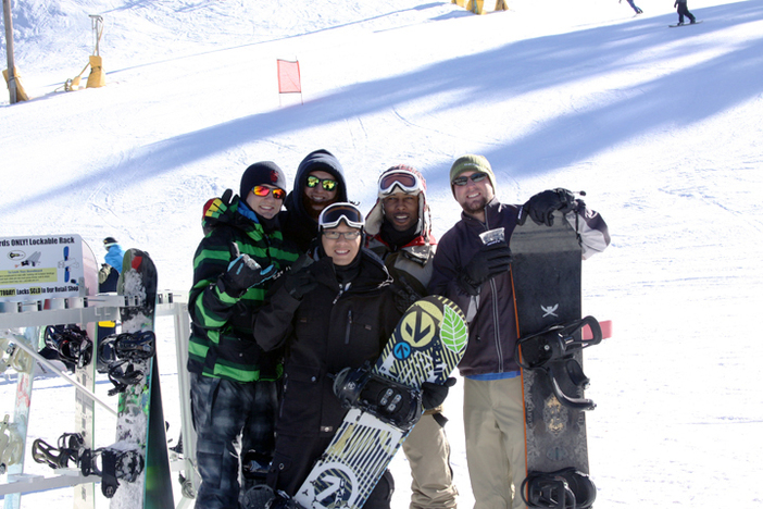 Bring all your friends for a shred day.