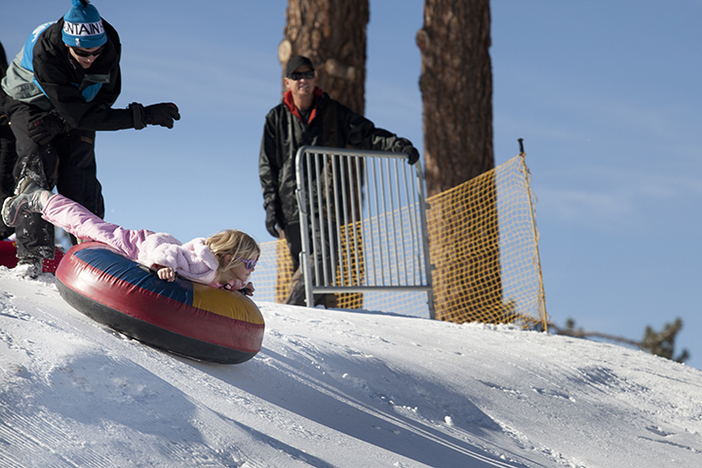 The North Pole Tubing Park is great way to spend some family time.