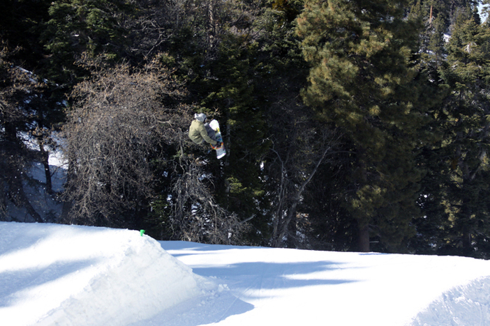 Hitting the kicker on Lower Chisolm.