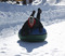 The North Pole Tubing Park is open today!