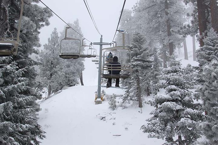 Chair 5 was the place to be this morning!
