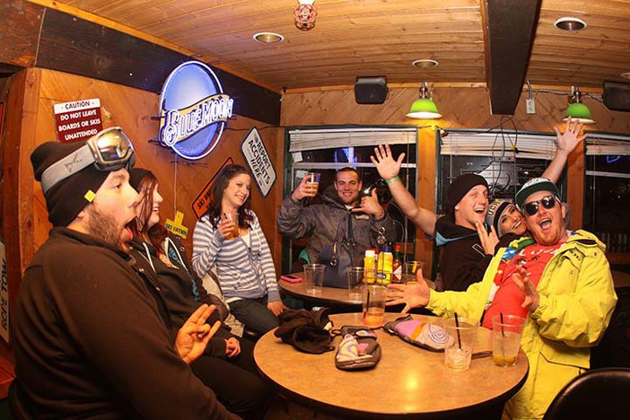 College Nights up in the Bullwheel are always a party.