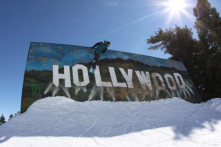 Hitting the Hollywood Wall Ride on a sunny day!