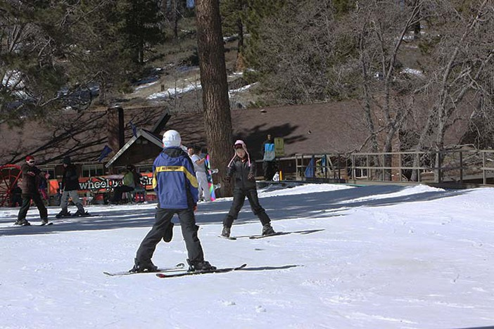Great Ski school instructors for every age.