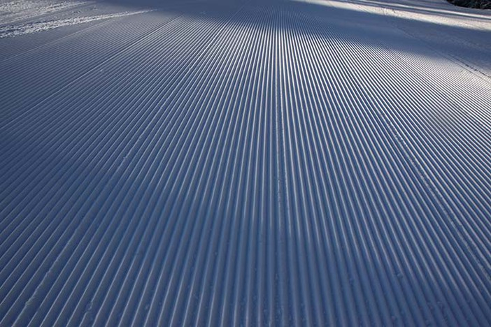 Midweek groomers this morning, who's getting first chair?
