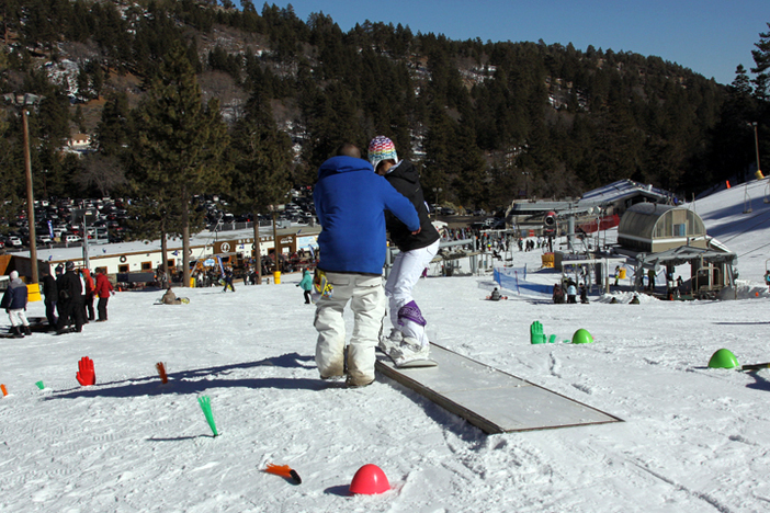 Come learn on park features designed specifically for beginners.