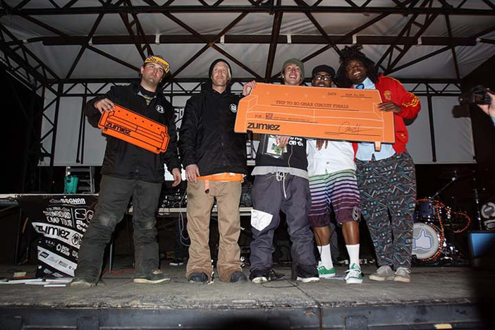 Congrats! An all expense paid trip to CO.