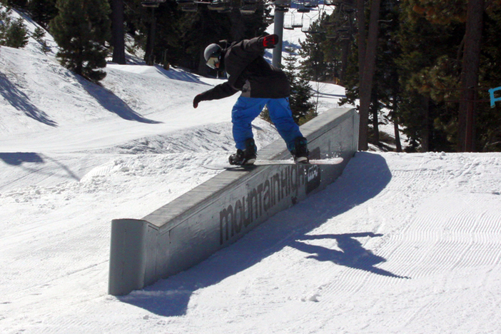 Mike Spears getting all of the Concrete Ledge.