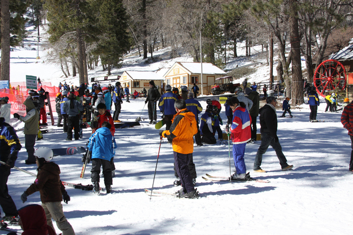 Find one of our friendly ski school instructors for a beginner lessson or refresher.