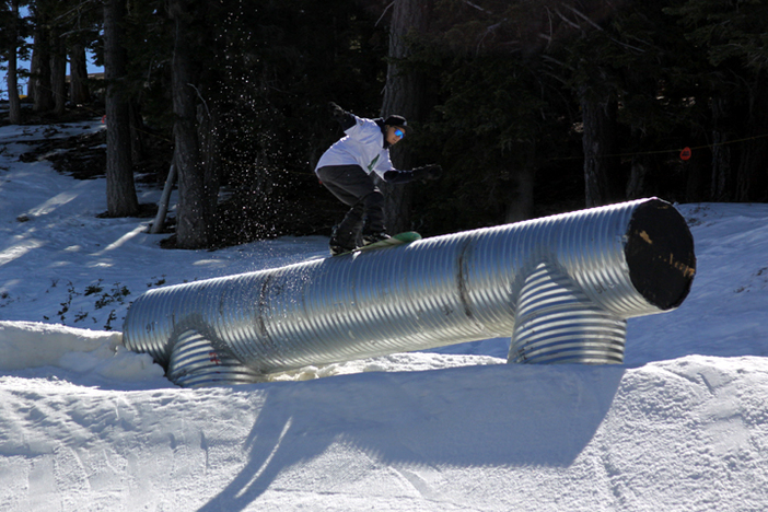 Have you ridden the new Corrugated Tube on Upper Chisolm?