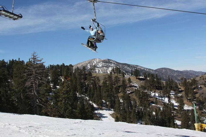 Stoked for Spring laps!