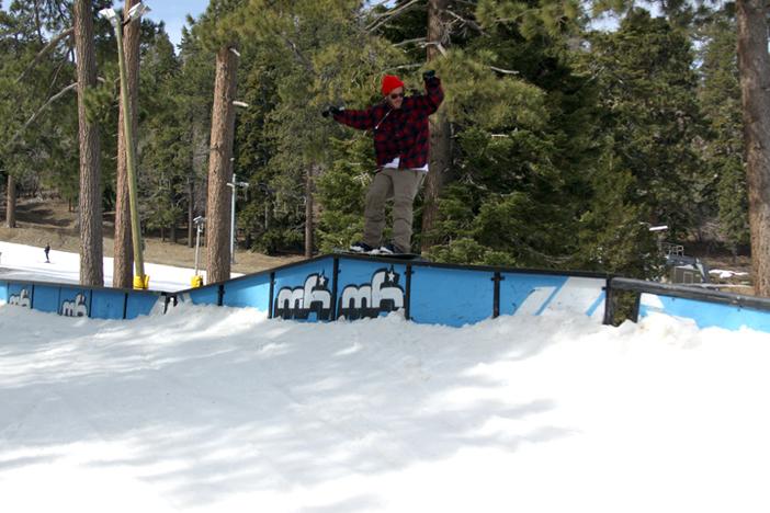 Trever Haas taking it to Railzilla