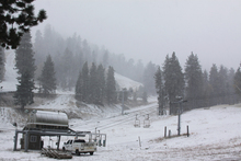 October 9th 2013 - First Snowfall of the 2013/14 season!