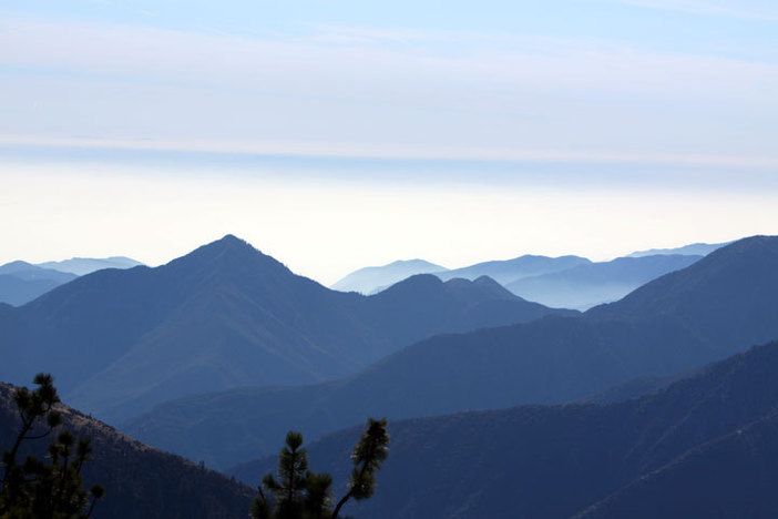 Mountain High, high above the clouds.