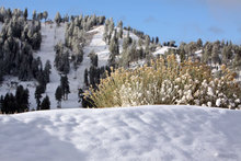 Second early season snowfall.