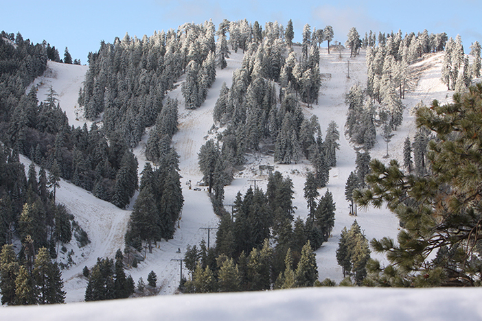 A preseason dusting left the mountain looking great!