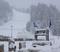 Snow blanketing East.