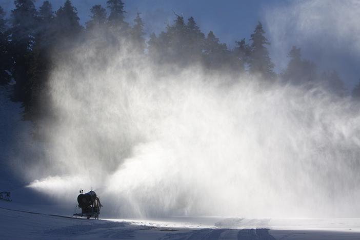 Terrific snowmaking overnight.