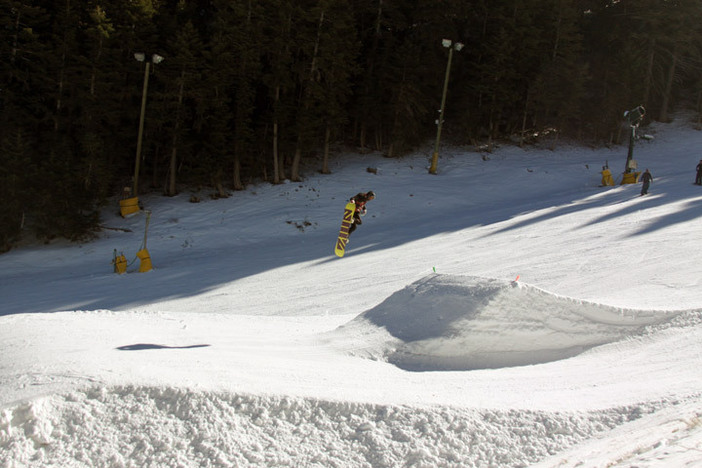 Testing out the new jump line on Chisolm