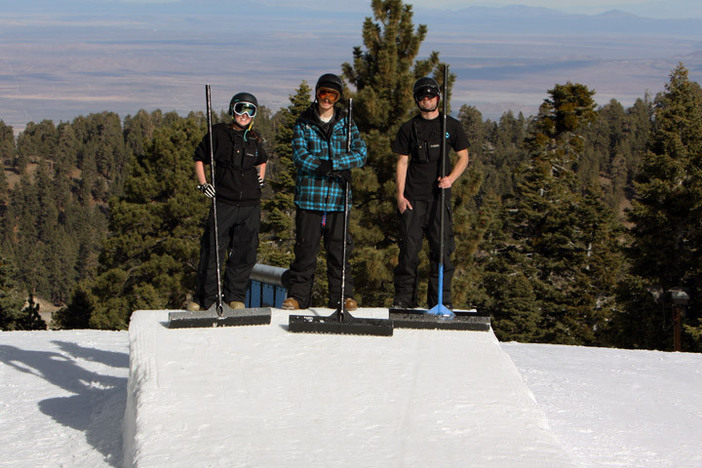 Our park crew is always working hard to bring you great top to bottom terrain features