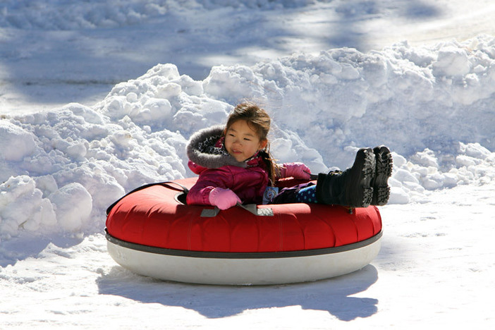 Our tubing park is open 7 days a week during the holidays