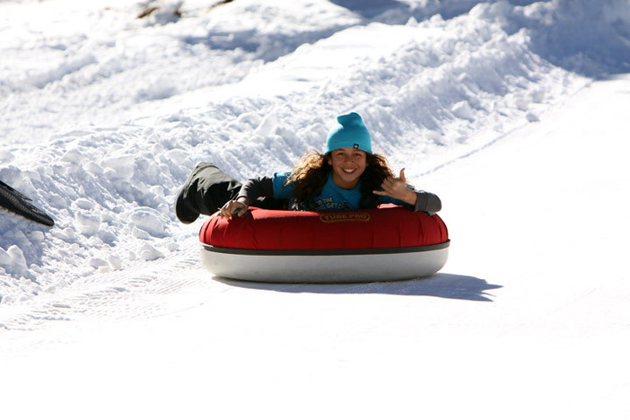 Tons of fun at the North Pole Tubing Park