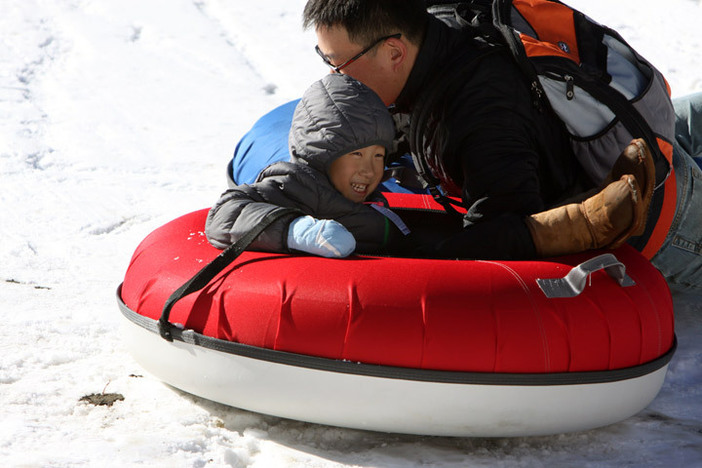 All ages can have a blast at our North Pole Tubing Park